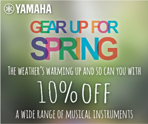Yamaha- Gear up for Spring