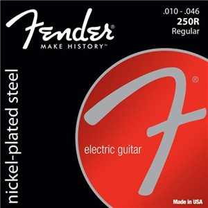 FENDER - SUPER 250'S NICKEL-PLATED STEEL STRINGS