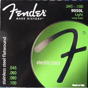 CORDE FENDER BASS 9050L FLATWOUND 45-100