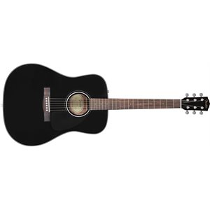 FENDER - CD-60 - WITH CASE - BLACK