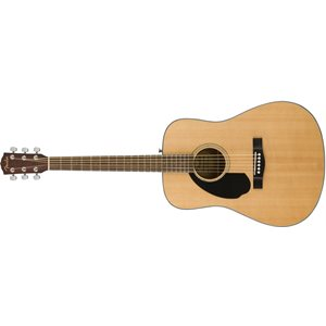 FENDER - CD-60S DREAD - LEFT HANDED - NATURAL
