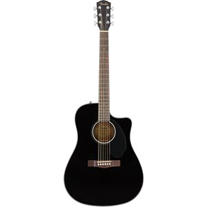 FENDER - CD-60SCE - Black
