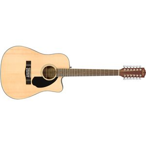 FENDER - CD-60SCE DREADNOUGHT - 12-STRING - NATURAL