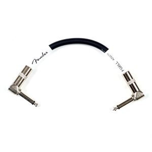 FENDER - PATCH CABLE - BLACK - 6`