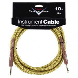 FENDER - Cable Custom Shop 10' Tweed (Droit-Droit)