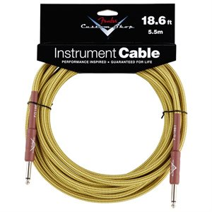 FENDER - Cable Custom Shop 18.6' Tweed (Droit-Droit)