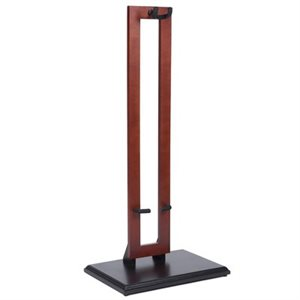 FENDER - Hanging Wood Guitar Stand - Cherry Stain