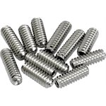 FENDER - AMERICAN VINTAGE STRAT-TELE SADDLE ADJUSTMENT SCREWS (12)