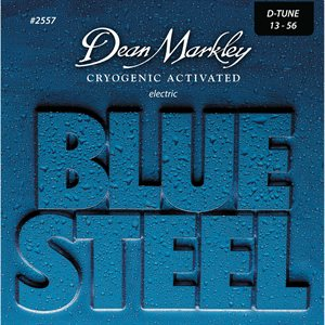 DEAN MARKLEY - Blue Steel Drop Electric String Set 13-56