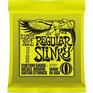 ERNIE BALL - ELECTRIC STRINGS - 10-46