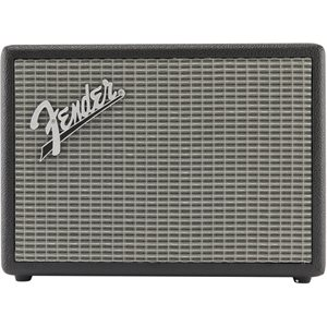 FENDER - MONTEREY BLUETOOTH SPEAKER - Black and Silver