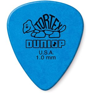 DUNLOP - TORTEX BLUE 1.0MM - 12 PICKS PACK