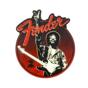 "FENDER - FENDER JIMI HENDRIX COLLECTION ""PEACE SIGN"" MAGNET"