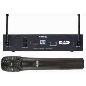CAD - WX1600 - UHF Wireless Cardioid Dynamic Handheld