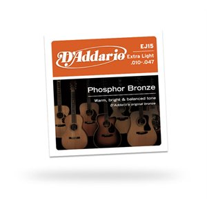 D'ADDARIO - EJ15™ Extra Light 10-47