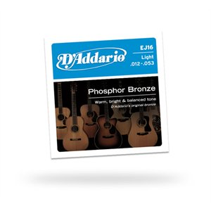 D'ADDARIO - EJ16™ Light 12-53