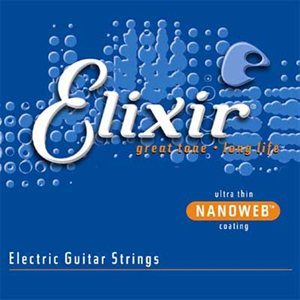 Elixir – Electric Guitar Strings with Nanoweb Coating 12052