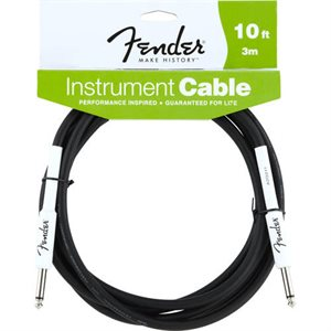 FENDER - 10' Performance Series Instrument Cables (Straight-Straight)