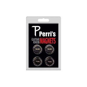 White Perris Leathers GNM-02 Guitar Knob Fridge Magnets