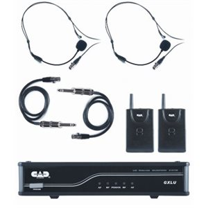 CAD - GXLUBB - Dual Bodypack Microphone System K / L