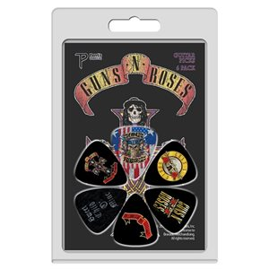 PERRI'S - Guns N Roses Guitar picks - 6 pack