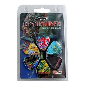 PERRI'S - Iron Maiden Guitar Picks - 6 Pack