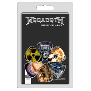 PERRI'S - Megadeth Guitar Picks - 6 Pack