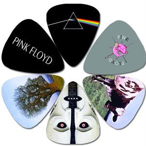 PERRI'S - Pink Floyd Guitar Picks - 6 Pack