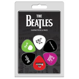 PERRI'S - The Beatles Guitar Picks - 6 Pack