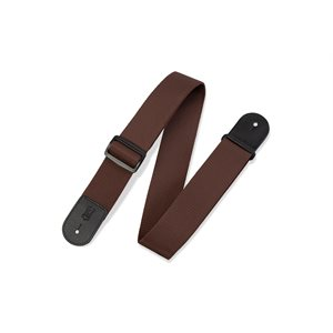 LEVY'S - M8POLY-BRN - STRAP - BROWN