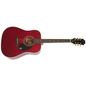 EPIPHONE - DR-100 Special Edition in Wine Red w / Gold Hardware