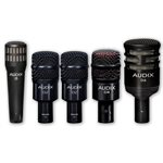 "AUDIX - DP5A - <h4><span id=""oucPageProductList_oucProductPagingListStandard_repProduct_ctl01_oucProductInfo1_lblProductDescription"" class=""contentText""><strong><span style=""font-family: arial; color: #1fe0dd; font-size: 8pt;"">Ensemble professionnelle 5 micros pour batterie</span></strong></span></h4>"
