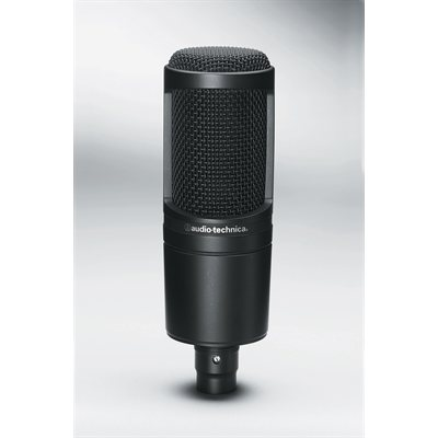 AUDIO-TECHNICA – AT2020 Cardioid Condenser Microphone