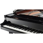 YAMAHA - DC2X EN PEC - POLISHED EBONY - DISKLAVIER GRAND PIANO - CHROME PEDALS