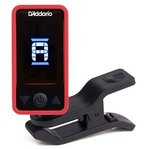 D'ADDARIO - ACCORDEUR CLIP ON - ROUGE