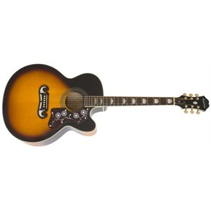 EPIPHONE - EJ-200SCE Acoustic / Electric - Vintage Sunburst