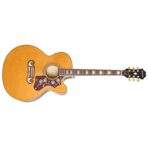EPIPHONE - EJ-200SCE Acoustic / Electric - Vintage Natural