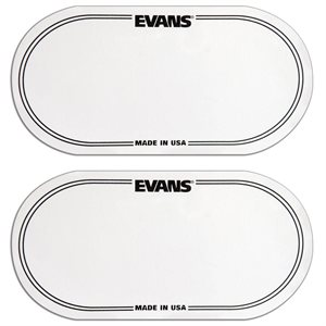 EVANS - EQ CLEAR PLASTIC DOUBLE PATCH