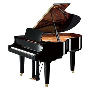 YAMAHA - C2X SH2 PE - POLISHED EBONY - SILENT GRAND PIANO