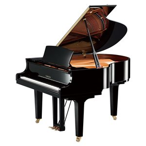 YAMAHA - C1X SH2 PE - POLISHED EBONY - SILENT GRAND PIANO