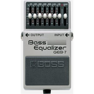BOSS - GEB-7 Bass Equalizer
