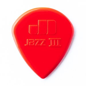 DUNLOP - JAZZ III RED - 6 PICKS PACK