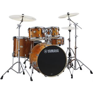 YAMAHA - Stage Custom Birch - 5-Piece Drum Kit - Honey Amber