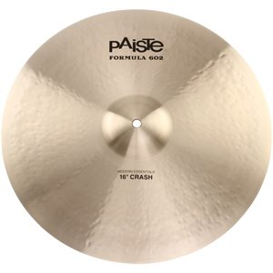 "PAISTE - 16"" Formula 602 Modern Essentials Crash"