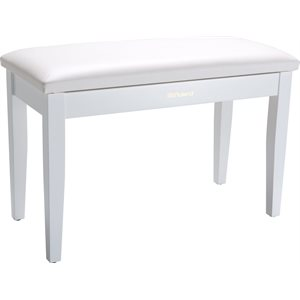ROLAND - RPB-D100 - Duet Piano Bench - WITH STORAGE - satin white