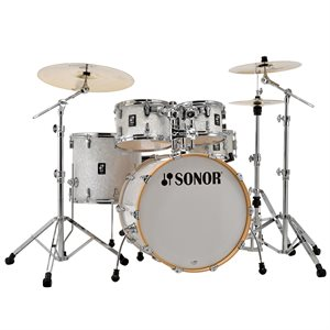 SONOR - AQ2 STAGE - 5-PIECE - SHELL KIT - WHITE MARINE PEARL