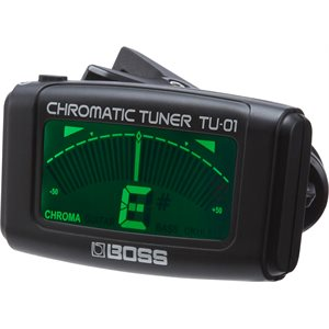 BOSS - TU-01 - Clip-On Chromatic Tuner
