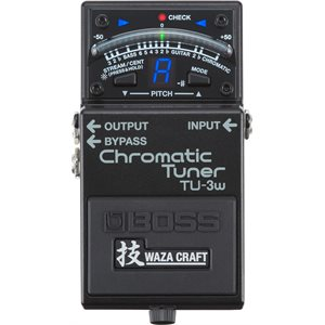 BOSS - TU-3W Chromatic Tuner
