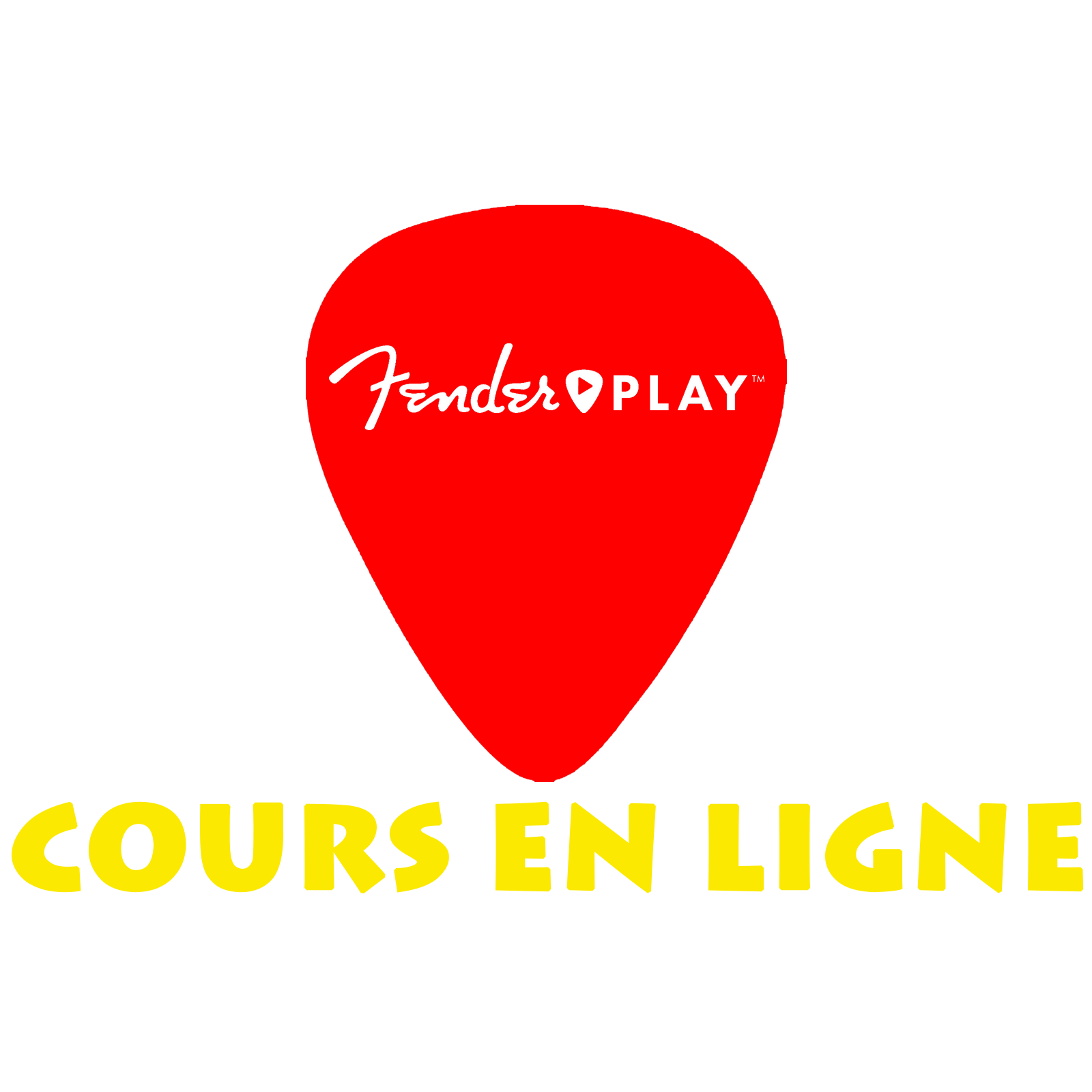ICON fender play FRANCAIS rouge